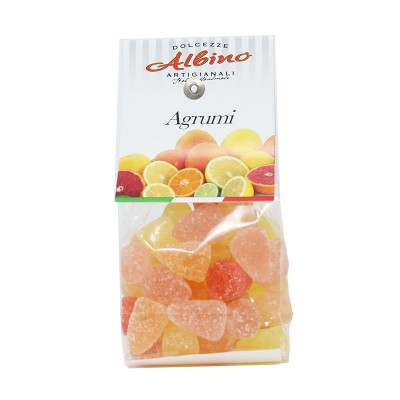 Citrus Fruit Jelly Candy