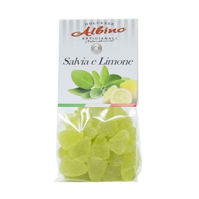 Sage and Lemon Jelly Candy